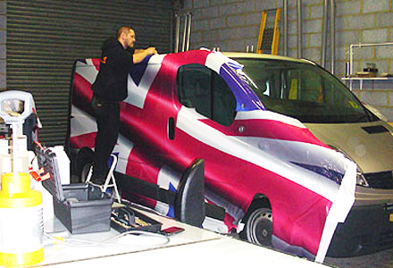 Vehicle Wrapping by Absolute Graphix