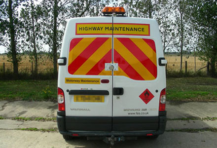 Van Safety Markings