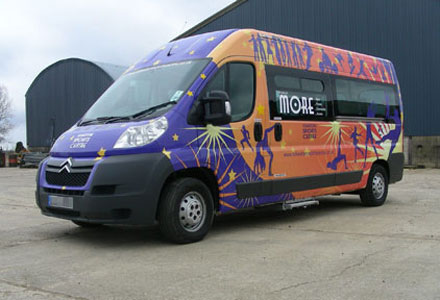 Sport Centre Vehicle Wrapping by Absolute Graphix