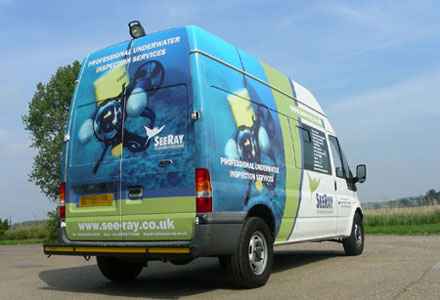 Van Part Wrap by Absolute Grapix
